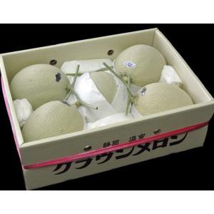 メロン 訳あり クラウンメロン 静岡産 雪等級 大玉4〜6玉 計約8kg 送料無料|tsukijiichiba