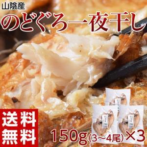 送料無料 山陰産のどぐろ一夜干し 3〜4尾(150g)×3袋 ※冷凍|tsukijiichiba