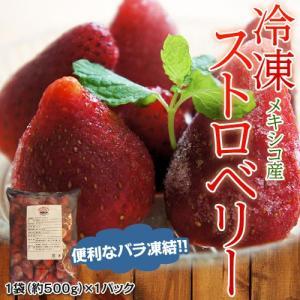 冷凍ストロベリー 約500g frt ○|tsukijiichiba