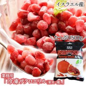 業務用 『冷凍ザクロエリル(果実・種)』たっぷり500g ※冷凍 frt 〇