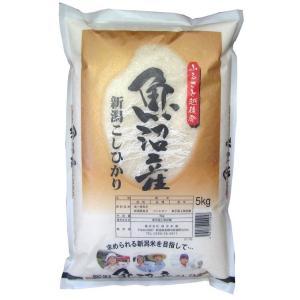 《送料無料》新潟県魚沼産 コシヒカリ 白米 5kg ※常温 ○|tsukijiichiba