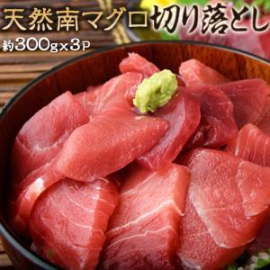 ミナミマグロ 送料無料 築地市場 卸の社食 天然南マグロ 切り落とし 約300g×3パック 豊洲市場 ※冷凍|tsukijiichiba