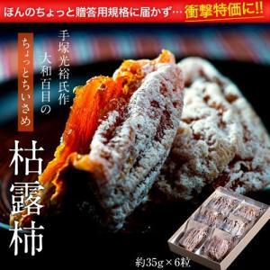 山梨県産 手塚さんのちょっと小さめ「枯露柿」 約35g×6粒 frt ☆|tsukijiichiba
