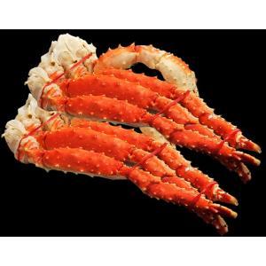 タラバ蟹 タラバガニ ロシア産 特大 ボイル 約800g×2肩 計1.6kg 4人前相当 送料無料 冷凍 たらば蟹 かに カニ タラバ ギフト|tsukijiichiba