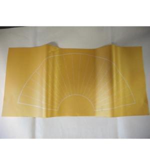 泥金箋・扇面罫線あり<35×68cm>(10枚)|tsukinokage