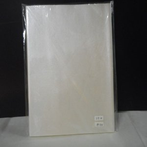泥銀箋<半切35×138cm>(10枚)|tsukinokage