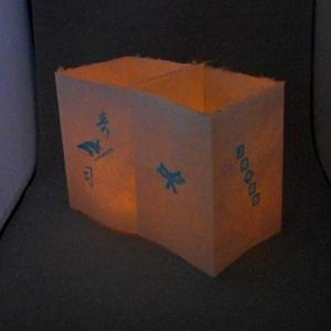 障子ランタン(LEDキャンドル付属) -001-|tsukinokage