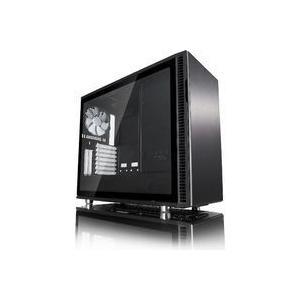 静音性と拡張性を備えたミドルタワーPCケース 強化ガラスのサイドパネル採用