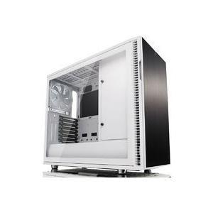 Define R6 USB-C TG (ホワイト) FD-CA-DEF-R6C-WT-TGC tsukumo-y