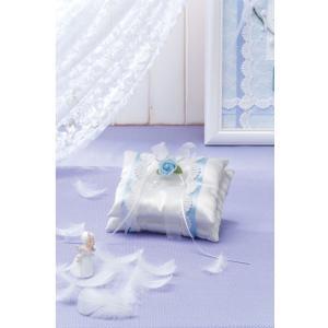 【お取り寄せ商品】天使のロイヤルリングピロー ブルー