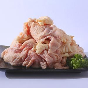 妻地鶏 鶏皮 1kg (冷凍)
