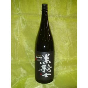 【西吉田酒造】 麦焼酎 黒騎士 25度 1.8L
