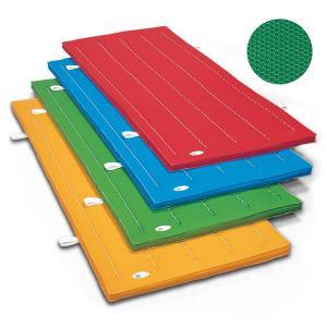 滑り止め付 体操カラーマット 90×180×厚5cm エステル カラーマット SGマーク付 体操マット