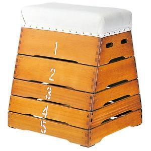 跳び箱 5段とび箱 シックハウス対応 富士型跳び箱|tsumura