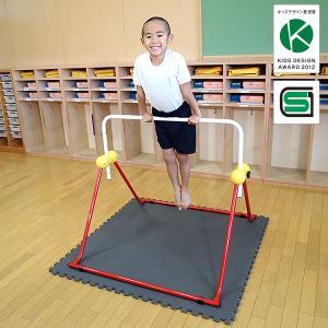鉄棒 日本製 子供用鉄棒 ツムラこども鉄棒 逆上がりのコツDVD付 組立不要 耐荷重70kg