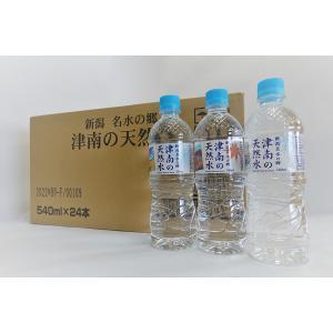 津南の天然水 550ml×24本 (ナチュラルミネラルウォーター 硬度17mg/L)