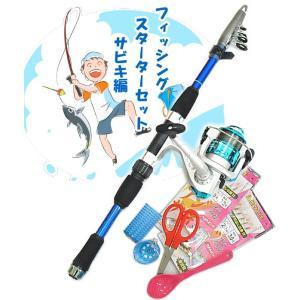 サビキ釣り入門セット ファイブスター フィッシングスターターセット サビキ編10 (セール対象商品) tsuribitokan-masuda