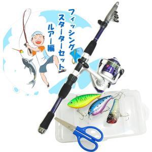 ルアー釣り入門セット ファイブスター フィッシングスターターセット ルアー編10 (セール対象商品) tsuribitokan-masuda