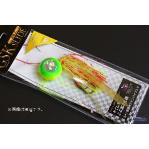 (ポイント10倍) マルシン漁具 ハイドラ GSKスライド イエローチャート 60g / 鯛ラバ (メール便可) / SALE10 tsuribitokan-masuda
