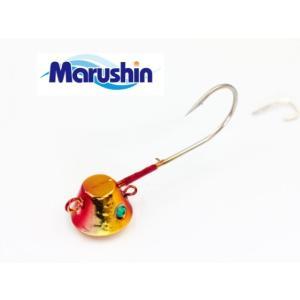 マルシン漁具 TRD一つテンヤ レッドゴールド 12号 / 鯛ラバ タイラバ (メール便可) (セール対象商品)|tsuribitokan-masuda