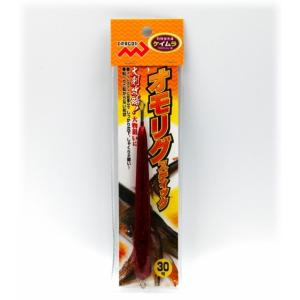 マルシン漁具 オモリグスティック レッドラメケイムラ 30号 / 仕掛け オモリ (メール便可) (セール対象商品)|tsuribitokan-masuda