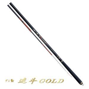 がまかつ がま鯉 速斗 (そくと) ゴールド 6H 4.5m / コイ竿 (お取り寄せ商品) (セール対象商品)