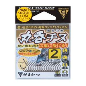 がまかつ 丸呑チヌ 2号 / チヌ針 (メール便可) (セール対象商品)
