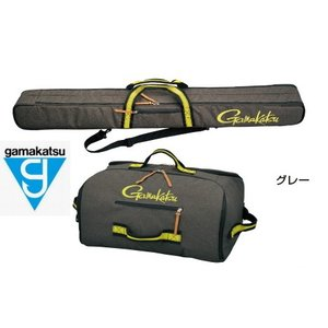 がまかつ ウルトラライトロッドケース (2層) / ウルトラライトバッグ (2層) ( ロッドケース、バッグセット) GC-281 グレー (お取り寄せ商品) (大型商品 代引不可