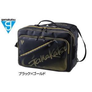 がまかつ 3WAYバッグ GM-3580 ブラック×ゴールド (お取り寄せ商品)