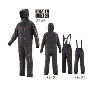 がまかつ ゴアテックス (R) オールウェザースーツ GM-3611 ブラック 5Lサイズ / レイ...