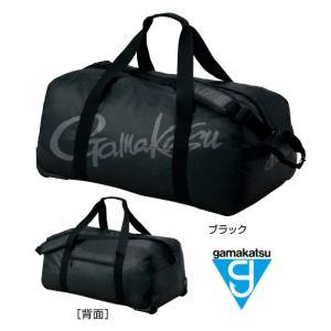 がまかつ ダッフルバッグ GM-2507 ブラック S(30.5L)サイズ (お取り寄せ商品)