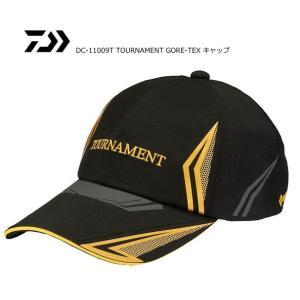 ダイワ トーナメント ゴアテックス キャップ DC-11009T ブラック フリーサイズ / 帽子 (O01) (D01) (年末感謝セール対象商品)|tsuribitokan-masuda