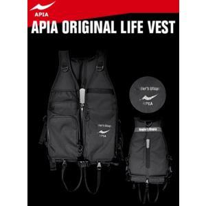 アピア (APIA) アクティブパフォーマンスベスト AP238-PFD ブラック×ブラック フリーサイズ / 救命具 [お取り寄せ商品] (セール対象商品)|tsuribitokan-masuda