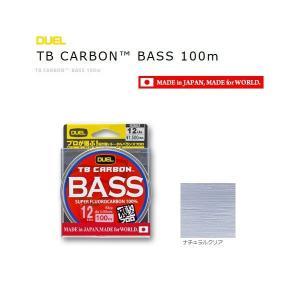 (セール 50%OFF) デュエル TB カーボン バス 100m 6Lbs./ 釣糸 (メール便可)|tsuribitokan-masuda