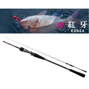 (数量限定セール) ダイワ 紅牙 N69HB-S / ベイトモデル タイラバロッド 釣竿|tsuribitokan-masuda
