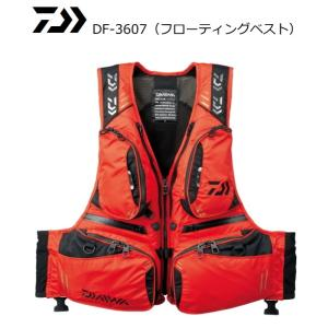 (セール) ダイワ フローティングベスト DF-3607 レッド XL(LL)サイズ / 救命具 (年末感謝セール対象商品) tsuribitokan-masuda