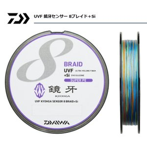 (セール 40%OFF) ダイワ UVF 鏡牙センサー 8ブレイド+Si 1.5号 (24lb) 200m / PEライン/ 釣糸 (メール便可)|tsuribitokan-masuda