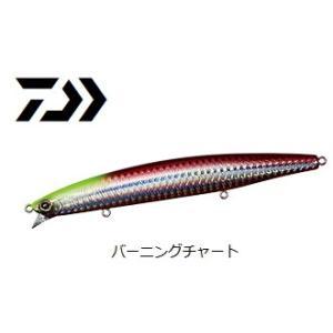 ダイワ モアザン ウインドストーム 135F バーニングチャート / シーバス ルアー (メール便可) (セール対象商品)|tsuribitokan-masuda