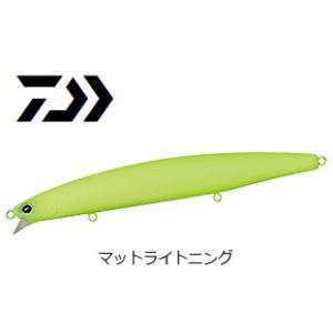 (数量限定セール) ダイワ モアザン ウインドストーム 135S マットライトニング / シーバス ルアー (メール便可)|tsuribitokan-masuda