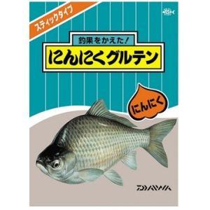ダイワ へら餌本舗 にんにくグルテン (8本入) 1箱 (40袋入り)  / へらぶな エサ (D01) [表示金額+送料別途] (年末感謝セール対象商品)|tsuribitokan-masuda
