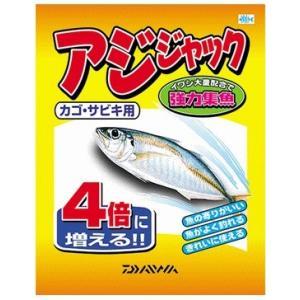 ダイワ アジジャック 1箱 (24袋入り)  / 配合エサ 集魚材 (D01) [表示金額+送料別途] (年末感謝セール対象商品)|tsuribitokan-masuda