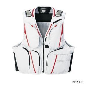 シマノ 2WAYベスト XT VE-022Q ホワイト XL(LL)サイズ / 友釣り 鮎ベスト (O01) (S01) (送料無料) (セール対象商品 10/21(月)12:59まで) tsuribitokan-masuda
