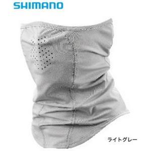 シマノ サン プロテクション フェイスマスク AC-061R ライトグレー フリーサイズ (メール便可) (S01) (O01)