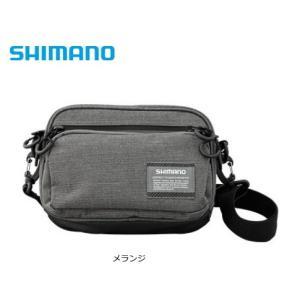 シマノ ライトポーチ BS-026R メランジ