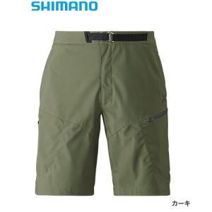 シマノ XEFO (ゼフォー) ゴア ウィンドストッパーショーツ PA-242R カーキ XL(LL)サイズ  (送料無料) (年末感謝セール対象商品)|tsuribitokan-masuda