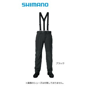 シマノ ゼフォー (XEFO) デュラストレインパンツ RA-22PS ブラック Lサイズ (送料無料) (S01) (O01) (年末感謝セール対象商品)|tsuribitokan-masuda