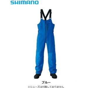 シマノ ゼフォー デュラスト(XEFO・DURAST) レインビブ RA-26PS ブルー Lサイズ (送料無料) (O01) (S01)|tsuribitokan-masuda