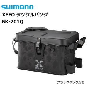 シマノ ゼフォー (XEFO) タックルバッグ BK-201Q ブラックダックカモ 32L (年末感謝セール対象商品)|tsuribitokan-masuda