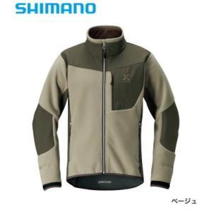 シマノ 19 ゼフォー(XEFO) ゴア(R) オプティマルジャケット JA-290R ベージュ L / 防寒着 (送料無料) (S01) (O01) (年末感謝セール対象商品)|tsuribitokan-masuda