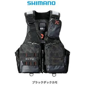 シマノ ゼフォー (XEFO) アクトゲームベスト VF-274R ブラックダックカモ Lサイズ (O01) (S01)